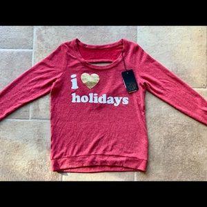 'I 💛 Holidays' Chaser Sweatshirt